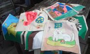 Kinderfeestje tasje schilderen
