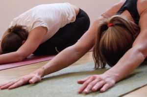 Yoga in Wageningen - kindhouding